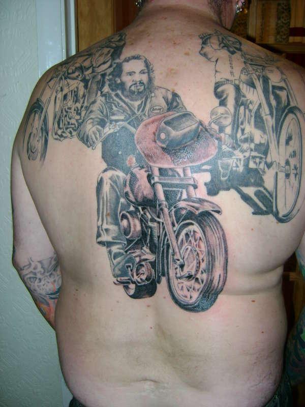 Outlaw Biker tattoo