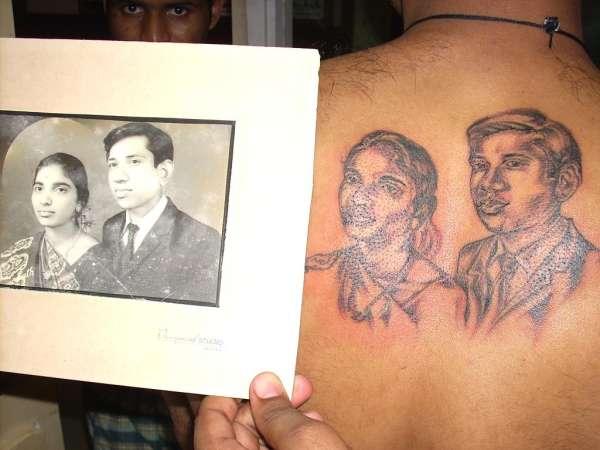 mom n dad tattoo
