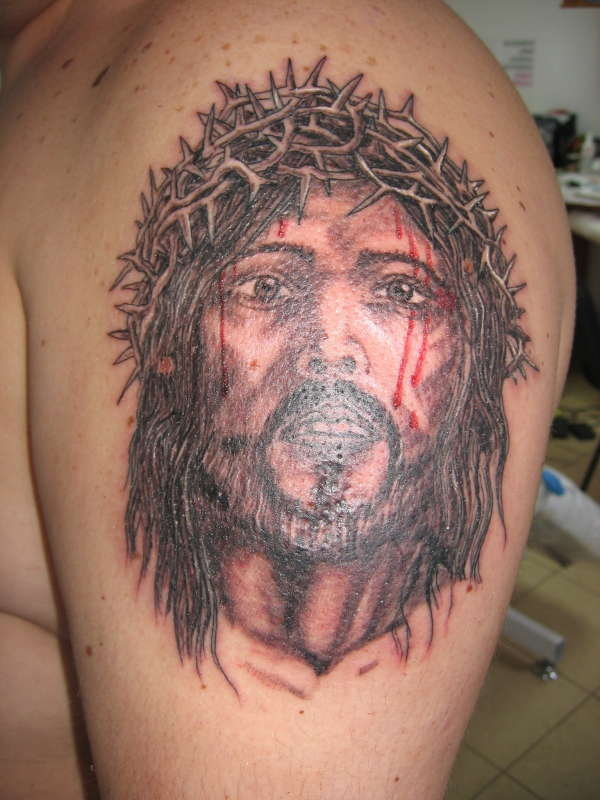 jesus ... tattoo