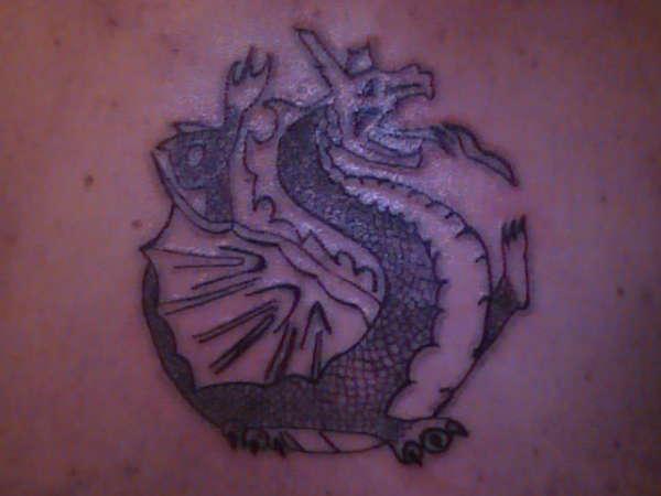 lil dragon tattoo