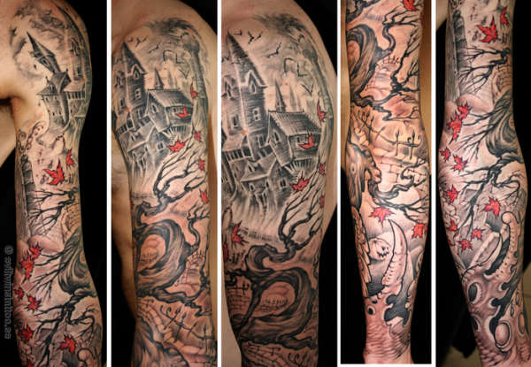My sleeve tattoo