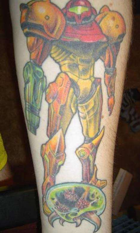 mythical crab evil older brother!!!! tattoo