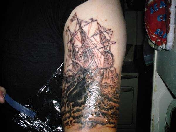 The Kraken! tattoo