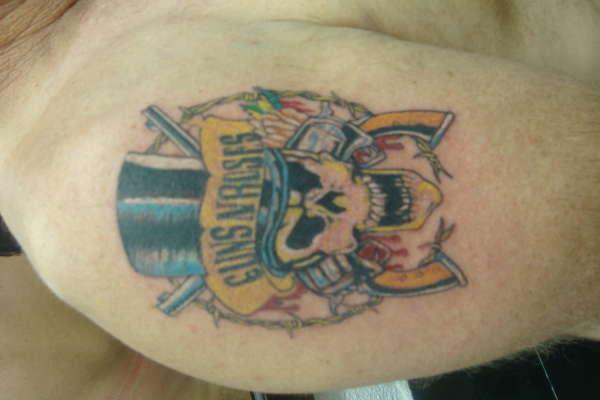 guns and roses tattoo