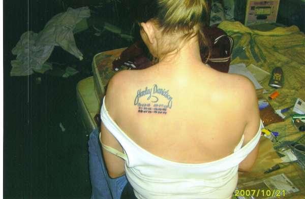 Hardly-Dangerous tattoo