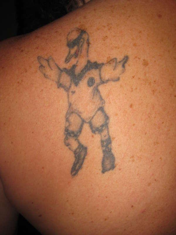 CYRIL THE SWAN tattoo