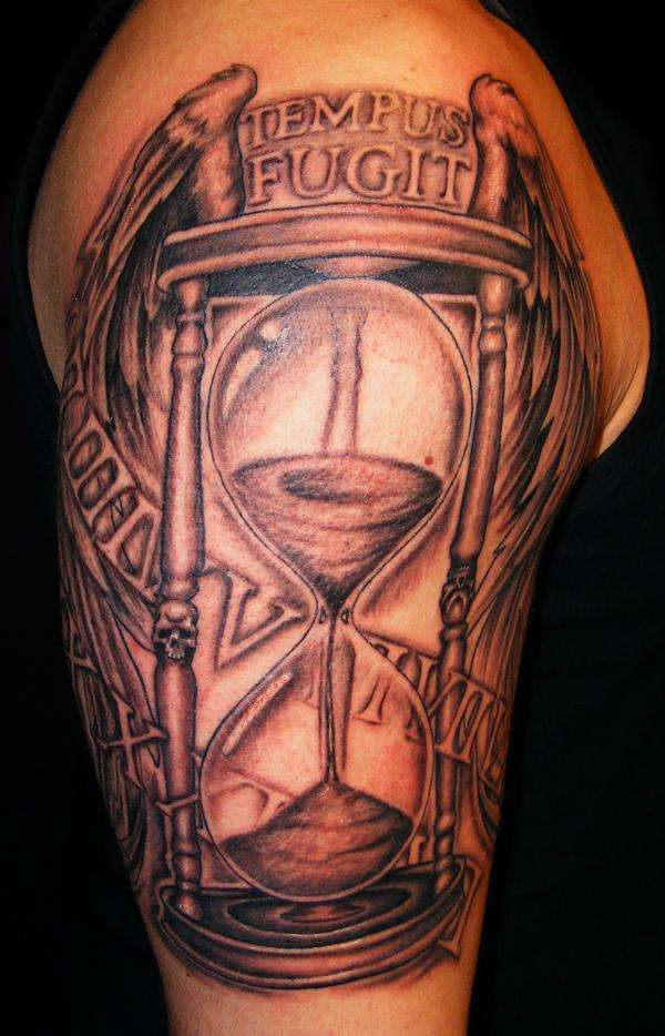 Time flies tattoo for Time is money tattoo