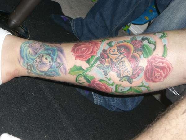 sock tattoo