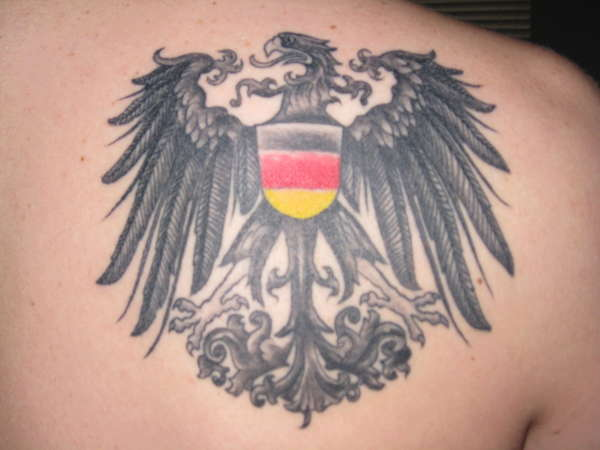 german eagle tattoo tattoo