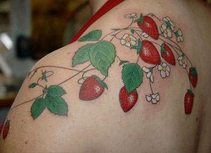 Strawberry Tattoo tattoo