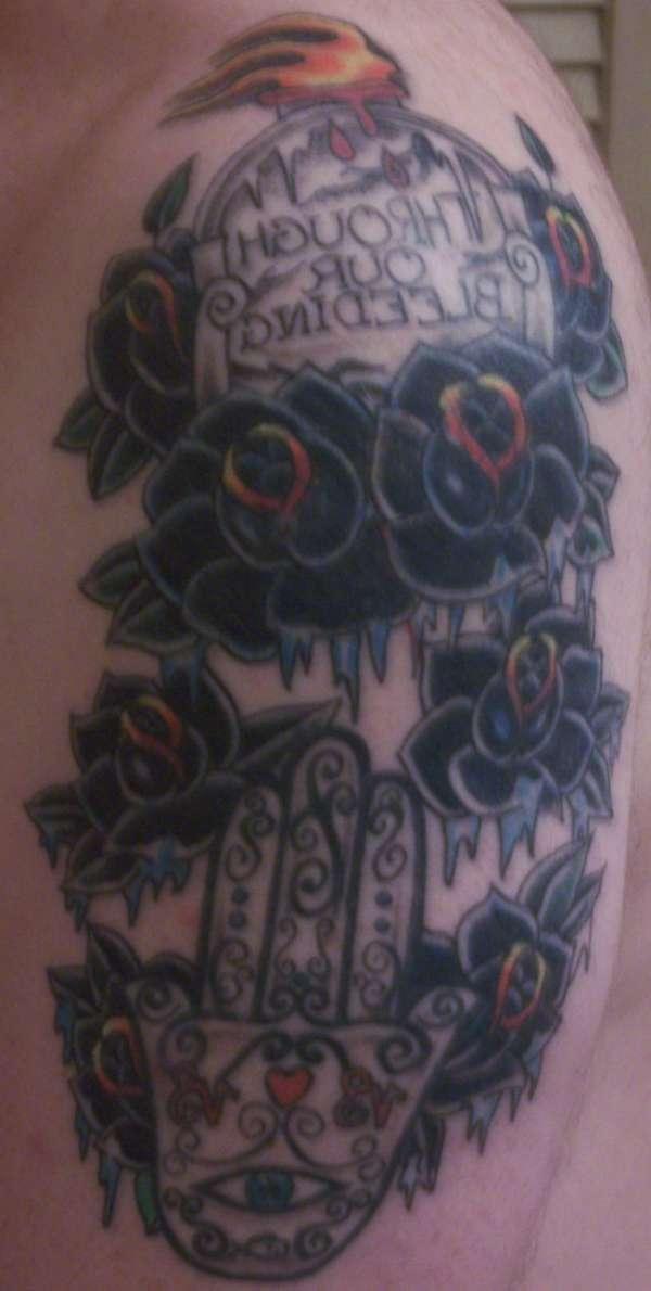Right Arm tattoo