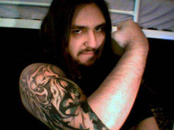 Reaper sleeve tattoo