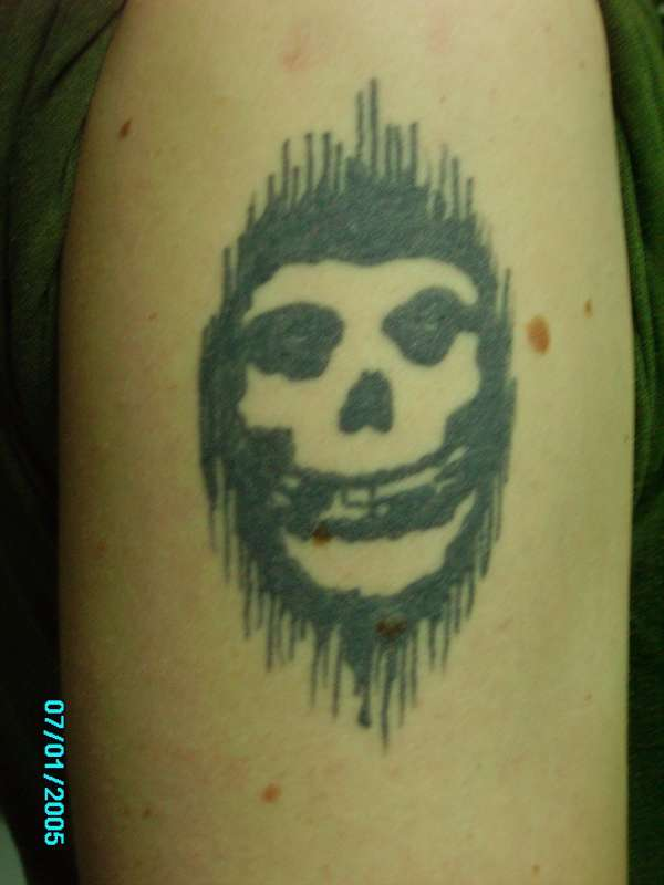 Misfits Skull tattoo Misfits Skull Tattoo