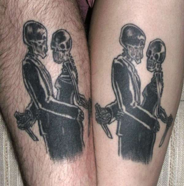 Lovers tattoo