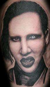Marilyn Manson tattoo