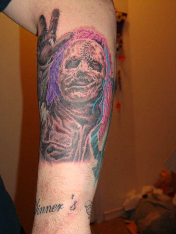 corey taylor tattoo