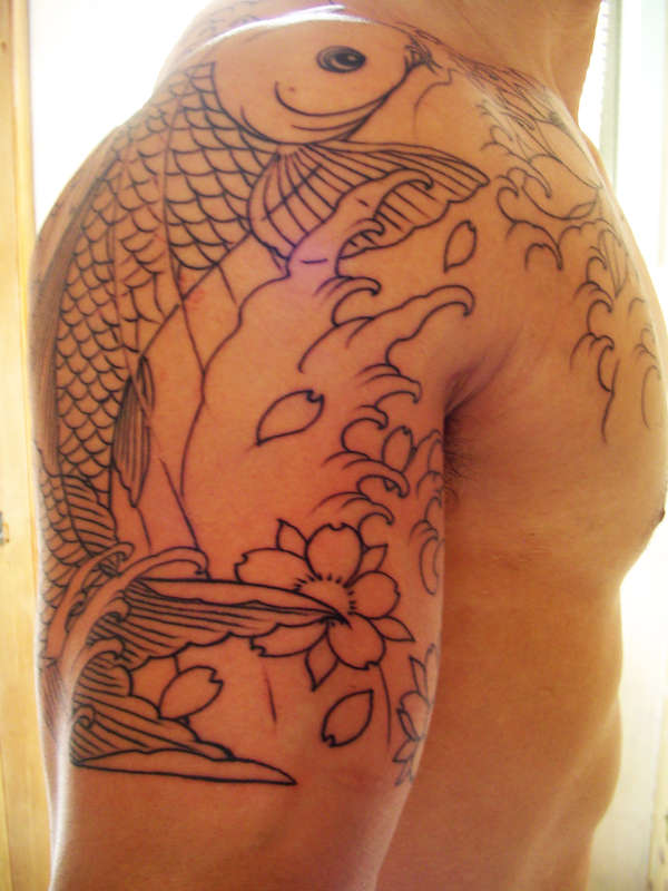 Koi fish done by Greg James =D tattoo