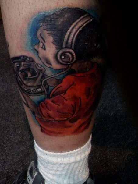 Korn follow the leader tattoo
