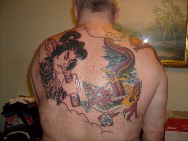 Samurai tattoo for Inked temptations tattoo studio