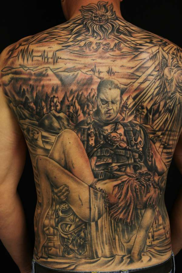 Wicked Back Peice!!! tattoo