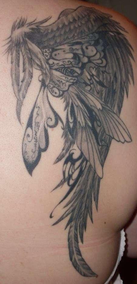 close  up tattoo