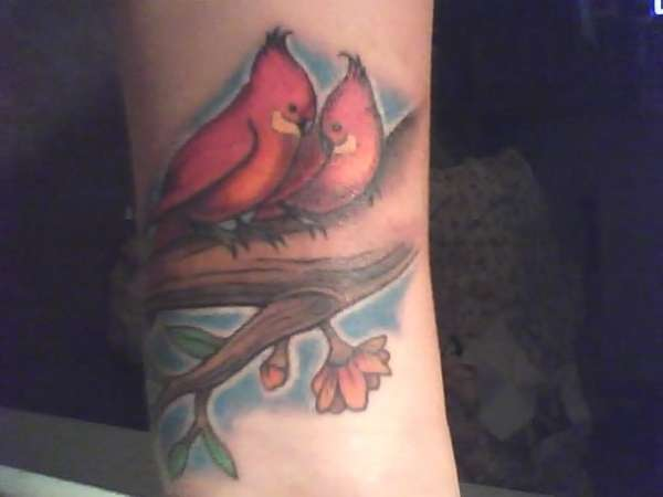 2 Little Tweets tattoo