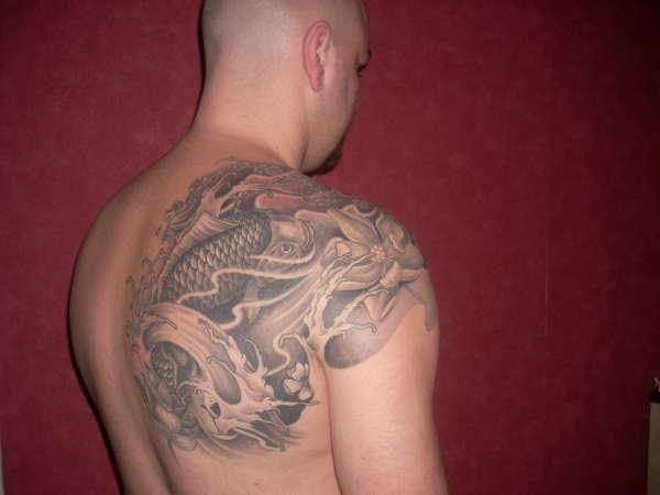 My koi tattoo tattoo