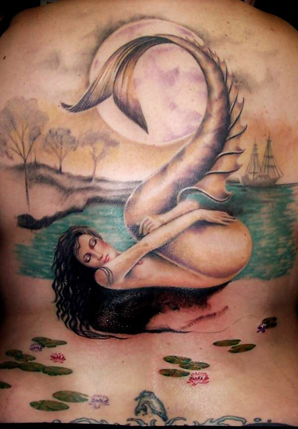 Full Back, Session 12 tattoo