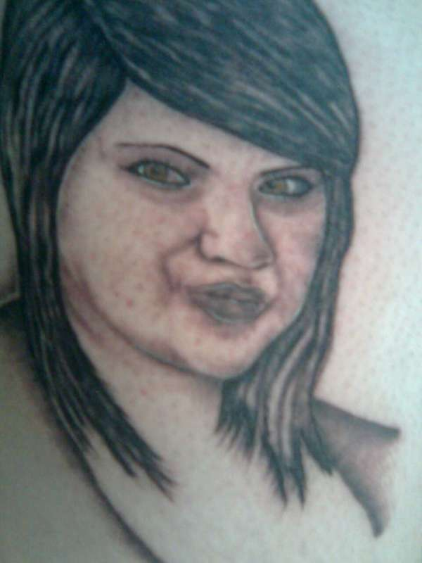 portrait of my little sister tattoo