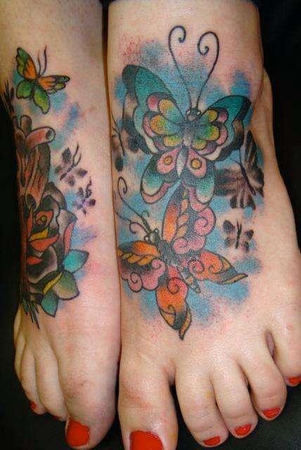 My butterflies tattoo