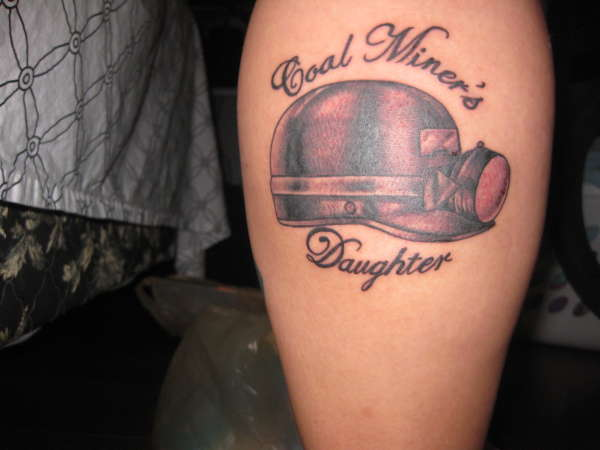 Coal Miner's Daughter tattoo
