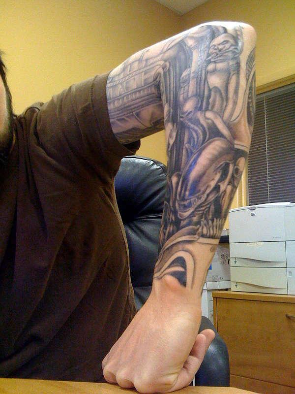 Outside Forearm tattoo