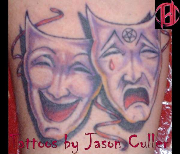 Theatre of Pain tattoo