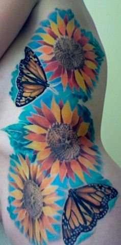 First tattoo, on my ribs! tattoo