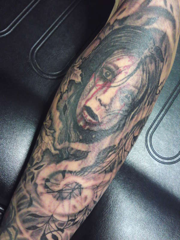 the grudge tattoo