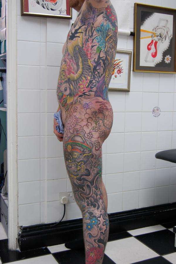 bit more work on the suit 2 tattoo