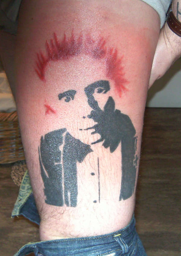 Rotten Tattoo: Johnny Rotten Tattoo
