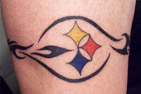 Steelers Armband tattoo