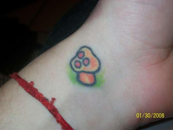 shroom tattoo
