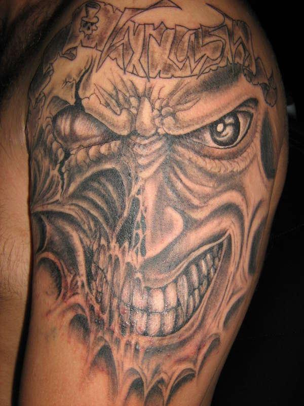 ur face? tattoo