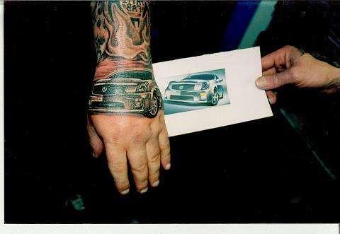 CADDY tattoo