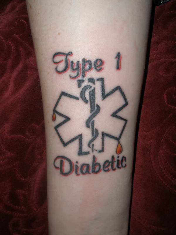 Medical Alert Tattoo tattoo