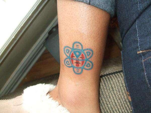 Taino Symbol tattoo