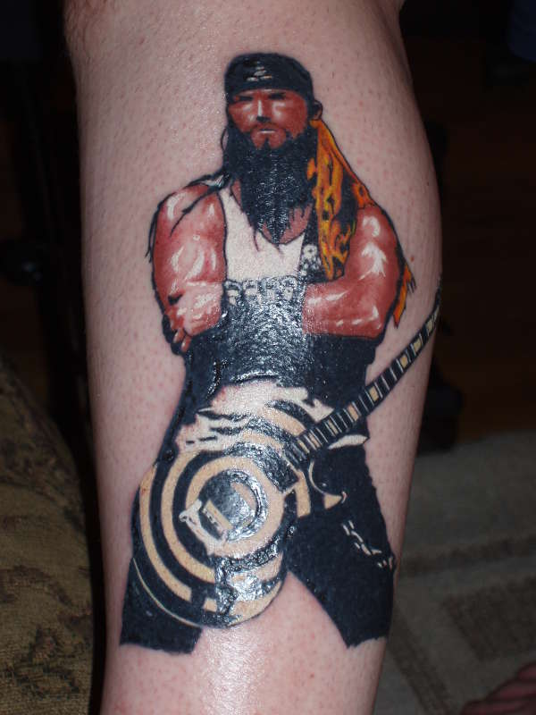zakk black label tattoo