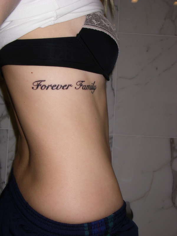 forever family tattoo
