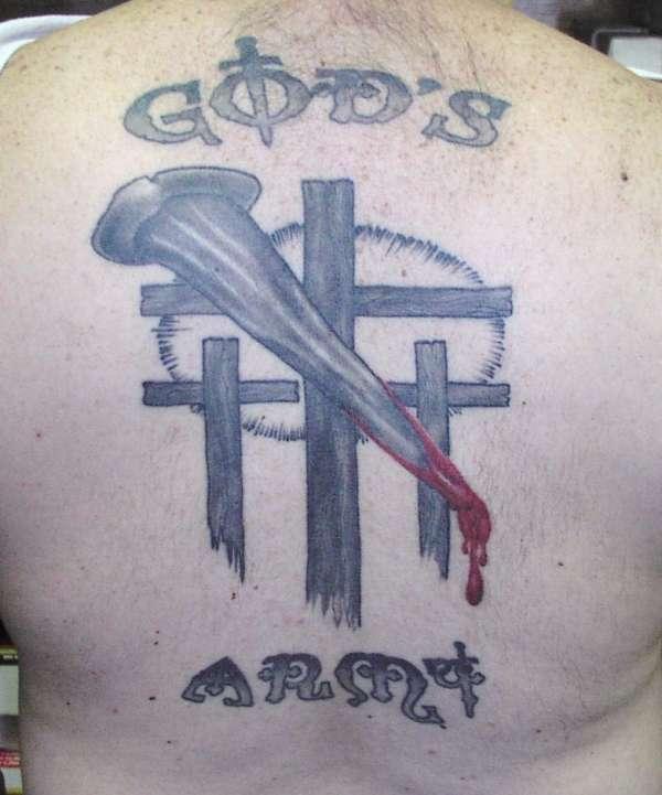 God`s Army tattoo