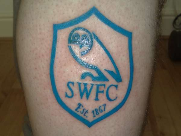 Sheffield Wednesday tattoo