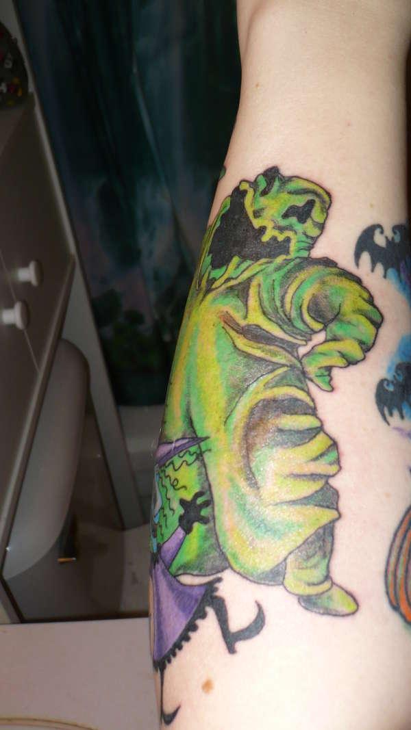 Another Shot of my NBC tattoo tattoo