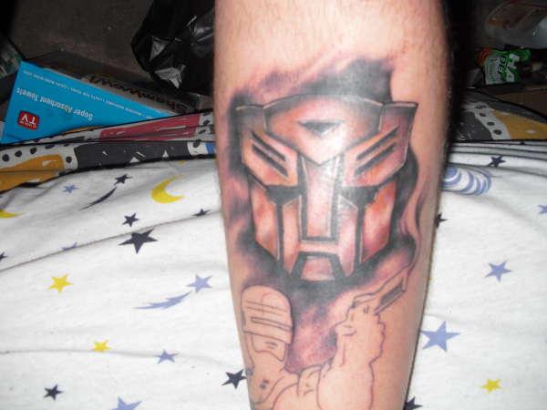 Transformers Autobot tattoo