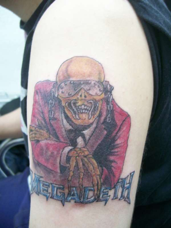 megadeth tattoo